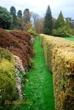 Terrace Garden, Gregynog Hall, Wales (October 2014)