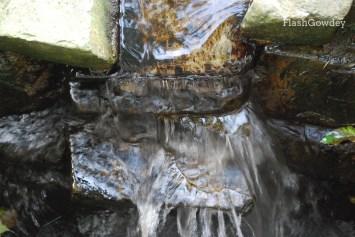 Waterfall, Gregynog Hall, Wales (October 2014)