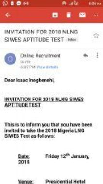 NLNG aptitude test