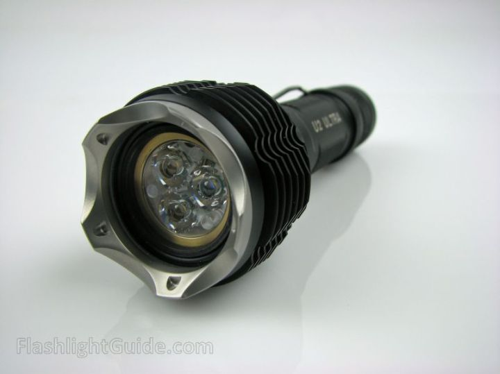 SureFire U2 with Cryos M2 Cooling Bezel and OVEREADY LU60 adapter