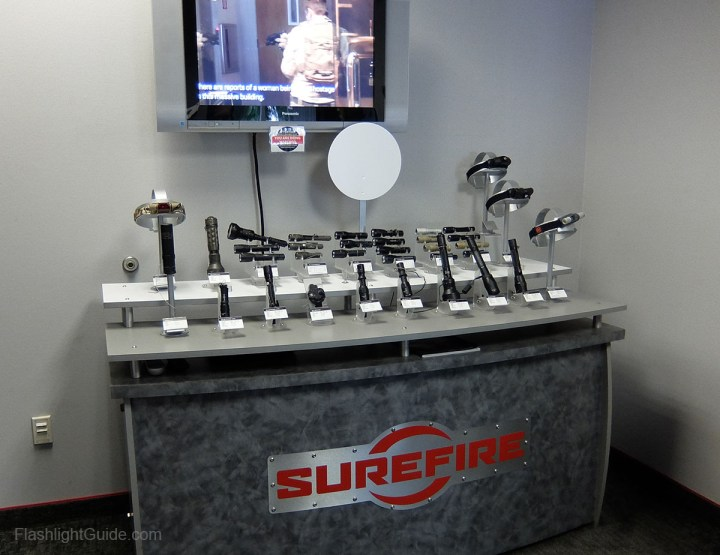 SureFire demo room