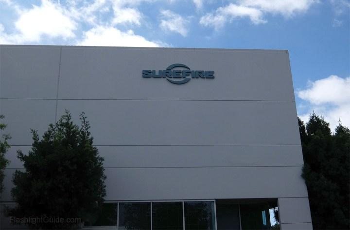SureFire factory tour