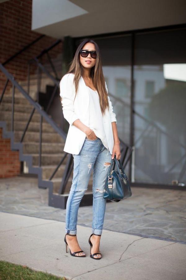 jean-taille-haute-feminine-chaussures-à-talon