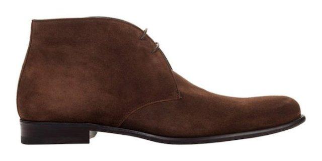 chaussure cuir homme bottines Chukka The Newman Paul Evans