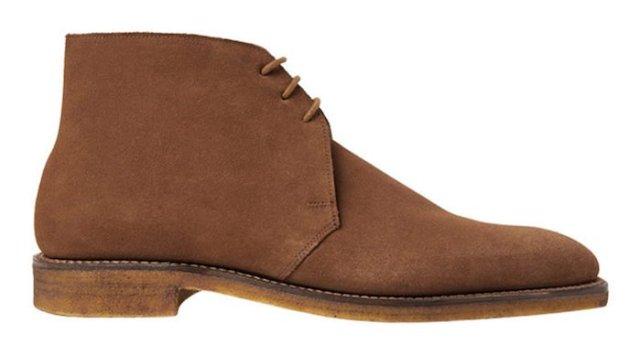 Bottines Chukka George Cleverley desert boots homme