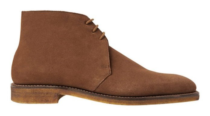 Bottines Chukka George Cleverley desert boots homme
