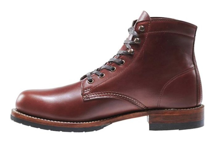 Work Boots Wolverine 1000 Mile chaussure cuir homme
