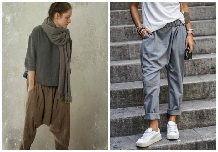 Les pantalons Harem
