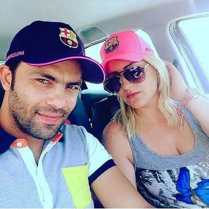 Stars Tunisiennes - Ahmed landolsi et sa femme