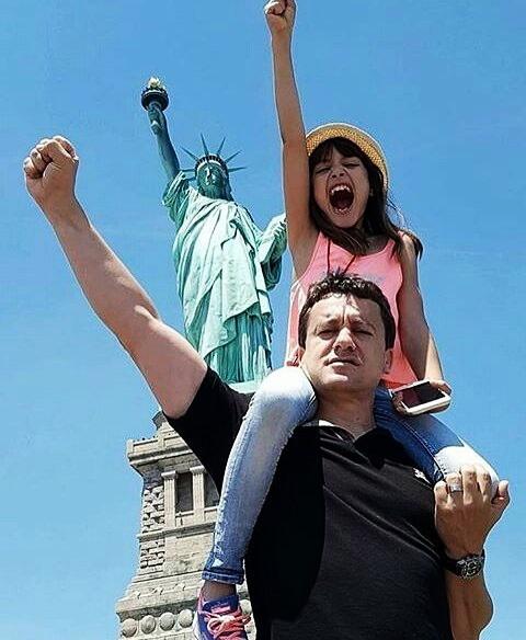Sami fehri avec sa fille aicha fehri