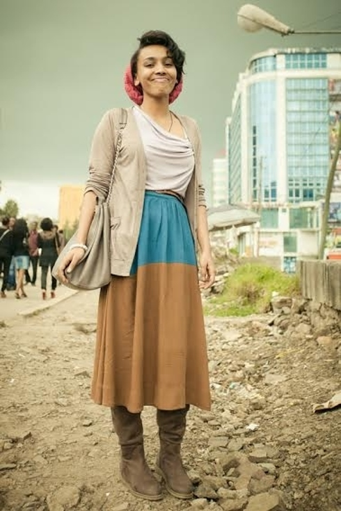 Tendance Street style pour femmes a Addis Ababa