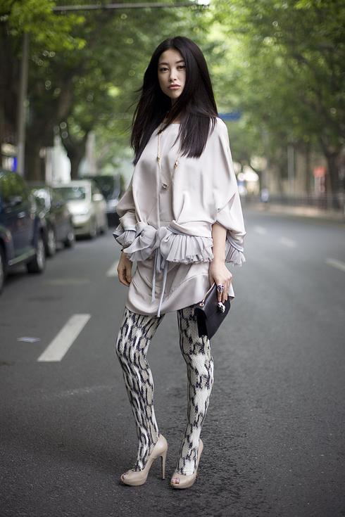 Tendance Street style pour femmes a Shanghai