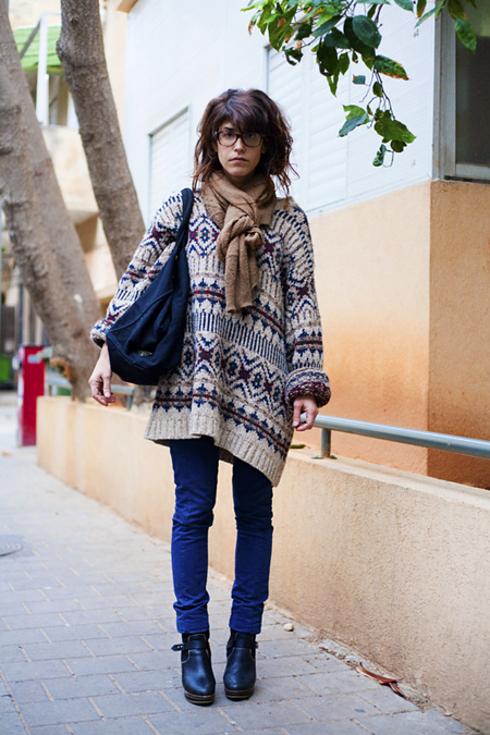 Tendance Street style pour femmes a Tel Aviv