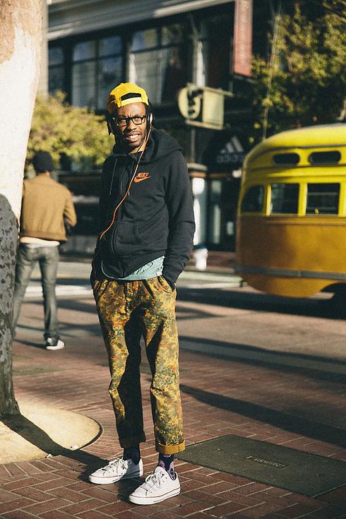 Tendance Street style pour hommes a San Francisco
