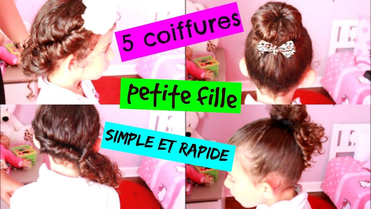 En Video 5 Coiffures Petite Fille Simple Et Rapide Flashmode Magazine Magazine De Mode Et Style De Vie Numero Un En Tunisie Et Au Maghreb