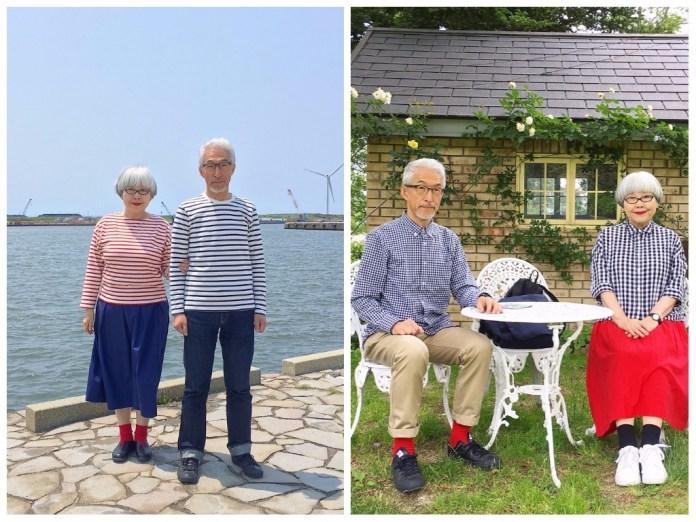 Chacune de leur sortie est remarquée. Après 37 ans de mariage, ce couple de japonais, amoureux comme au premier jour, assortit ses tenues. Une belle preuve de complicité qu'ils partagent sur Instagram.