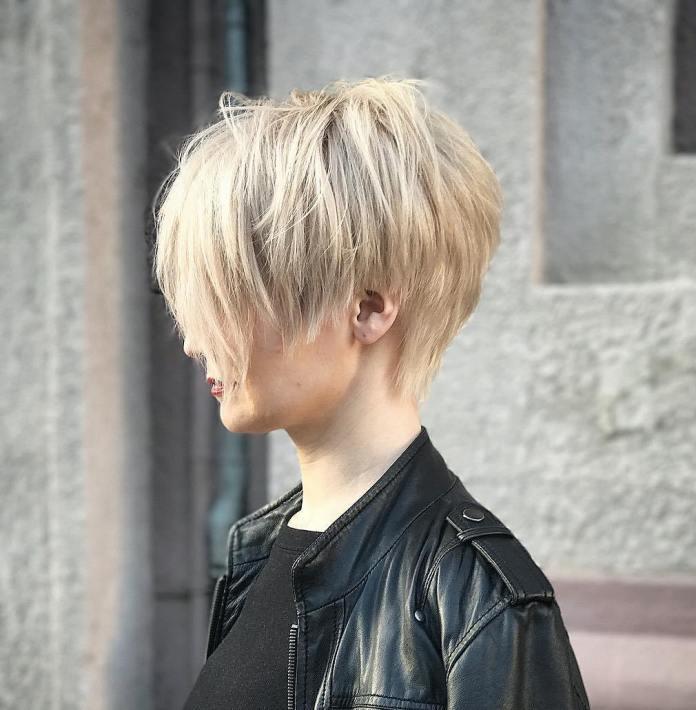 Choppy Messy Pixie pour cheveux fins
