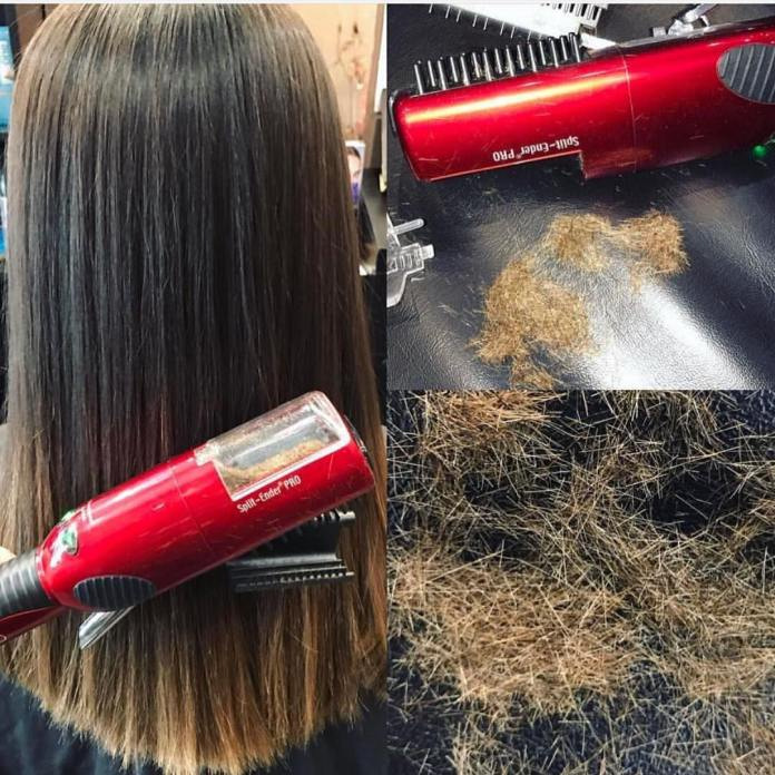 Comment se débarrasser des extrémités fendues sans coupe de cheveux et perte de longueur