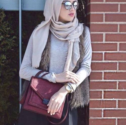 Hijab Fashion 2016: Special Selection trends looks veiled