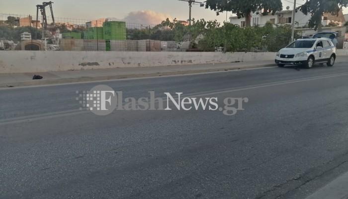 Χανιά: Σύγκρουση μηχανής με αυτοκίνητο στον δρόμο για το Πολυτεχνείο Κρήτης (φωτο)