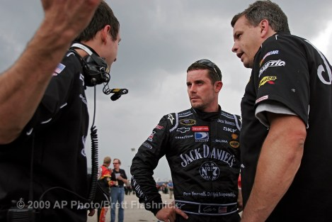 During the practice session for the Southern 500, at Darlington Raceway, Friday, May 8, 2009, in Darlington, S.C. (AP Photo/Brett Flashnick)