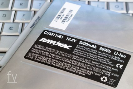 Rayovac Laptop Battery for MacBook Pro, COM11061, purchased on November 16, 2011 has a catastropic cell explosion after only 6 months of use. (© 2012 Brett Flashnick/flashnick visuals, llc.)