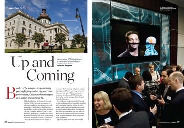 Columbia, SC for US Airways Magazine.