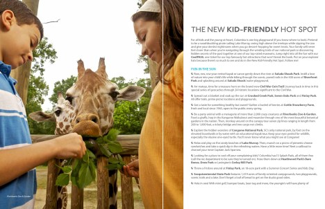 Feeding the Giraffes at Riverbanks Zoo and Garden to showcase family friendly activities in Columbia, SC.