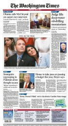 Election Night Coverage of Nikki Haley published in the Washington (DC) Times.
