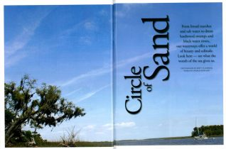 Spread on the ACE Basin Waterways for Colleton Magazine.