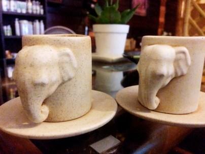 Tea offered at Green Bamboo Massage