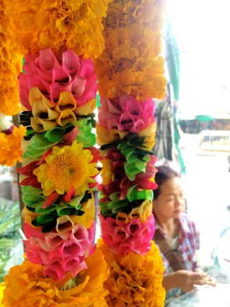 Detailed marigold flowers - Bangkok