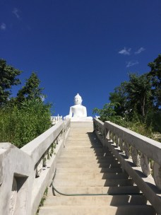 350 stairs up to Temple on the Hill (Wat Phra That Mae Yen)