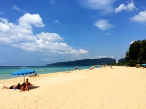 Karon Beach 2015 (after the military clean up in 2014)