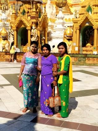 Burmese women in Yangon