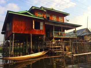 Nampan floating village