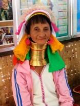 Kayan Lahwi tribal woman