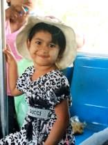 My little friend on the train in Yangon