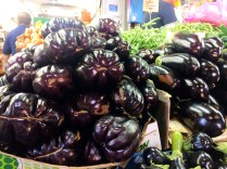 Eggplant at Carmel Market