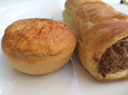 Meat pie & Sausage roll