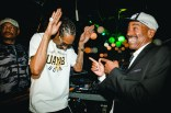 Snoop Dogg and Kurtis Blow