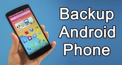 Comment sauvegarder votre téléphone Android