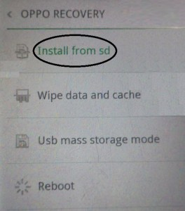 Flash Stock Rom on Oppo Manually