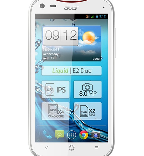 How to Flash Stock Rom on Acer Liquid E2
