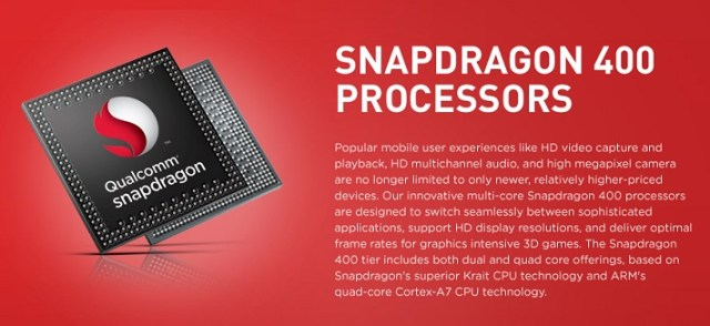 Qualcomm Snapdragon 400 Series