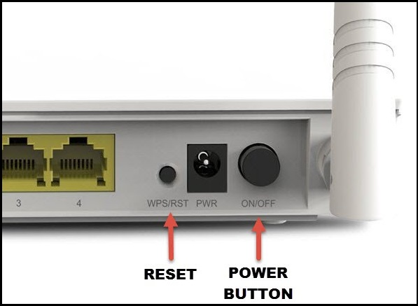 reset WIFI Router to fix WIFi connecting