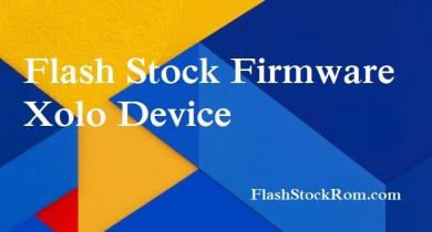 Flash Stock Rom onXOLO Black 3GB