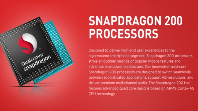 Qualcomm Snapdragon 200 Series