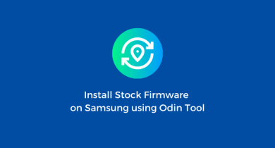 Flash Stock Firmware on Samsung Galaxy A40 SM-A405FN