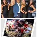 4 Chiacchiere in Cucina. Spaghetti gialli con le vongole dedicati a Carlo Conti